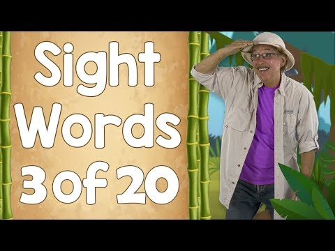 Ready to Read Sight Words | List Three | Jack Hartmann
