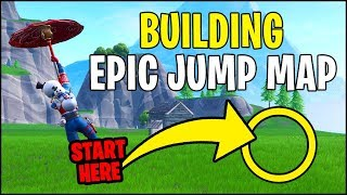 🔴 Building EPIC JUMP MAP in Fortnite