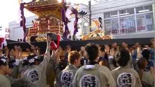 神輿渡御・よかっぺ祭り(千葉県匝瑳市八日市場) thumbnail