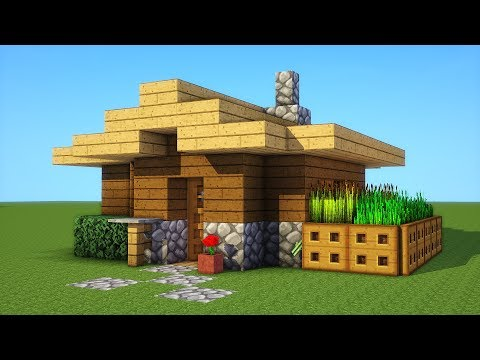 Minecraft How To Build A Small Survival House Tutorial Youtube
