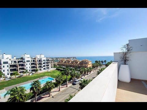 Penthouses with private solarium and sea views in Aguamarina, Campoamor