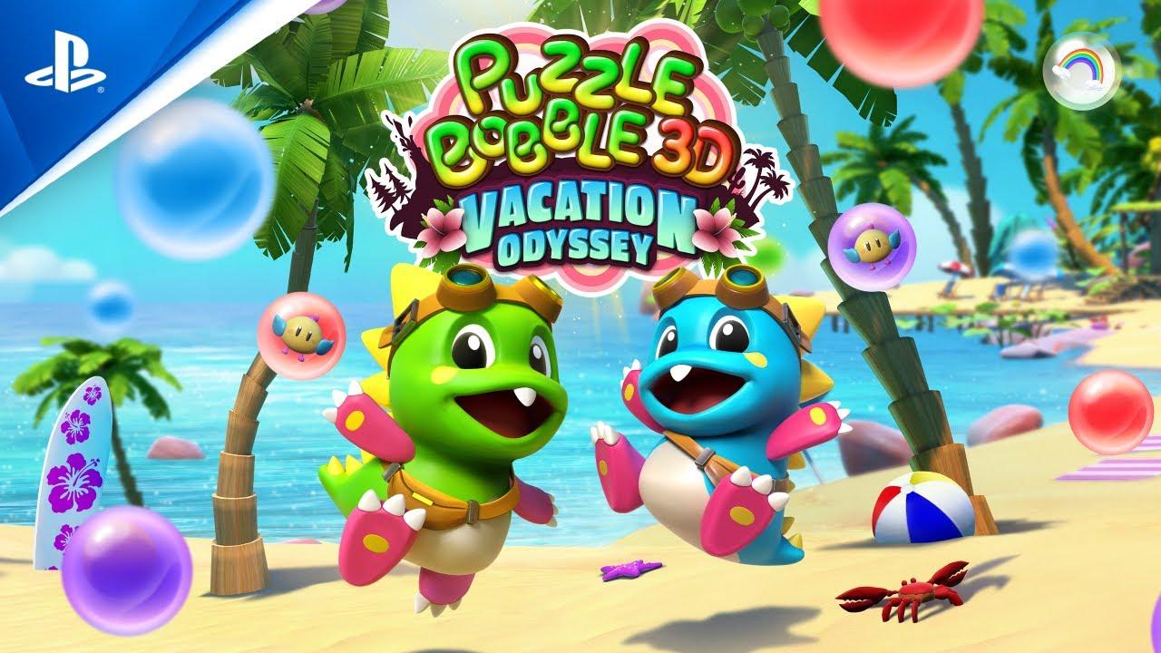 Puzzle Bobble 3D Vacation Odyssey | Bande-annonce de révélation | PlayStation VR