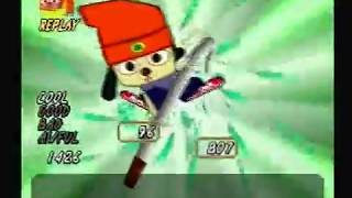 um jammer lammy   fire fire stage 2   lammy parappa cool mode fever time