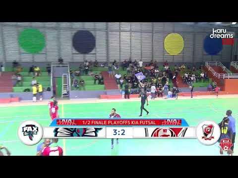 Demi-finale Aller Playoffs Kia Futsal Guadeloupe : FAX vs NEWTEAM . Captation diffusion Karudreams