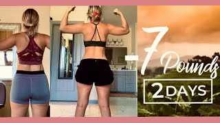48 HOUR WATER FAST *with pics&percents*  easy fat loss