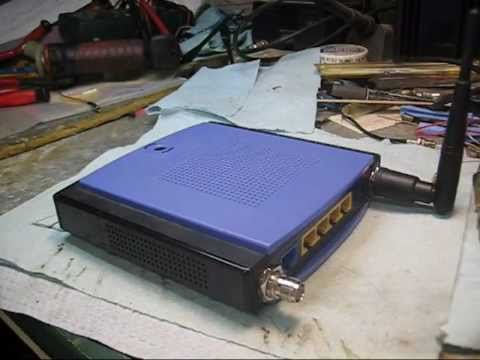 Part Two Of How To Modify A Linksys WRT150N WIRELESS Router For RP-RF External Antenna's Hook-UP.