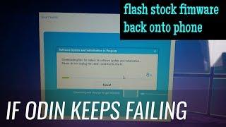 Samsung Device Firmware Restore Using Smart Switch Tutorial