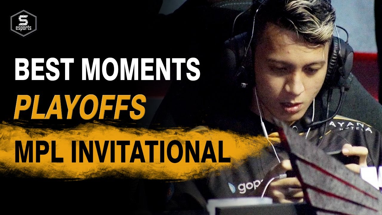 MPL Invitational Best Moments Playoffs - Congrats RRQ! #INDOPRIDE | SPIN Esports