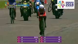 Muhammad Fadli cycling - Medali Perak ASIAN PARA GAMES 2018