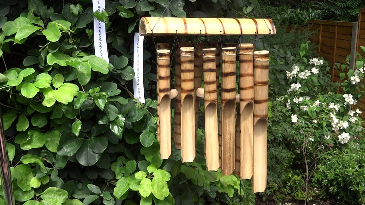 Tiger Bamboo Wind Chime Youtube