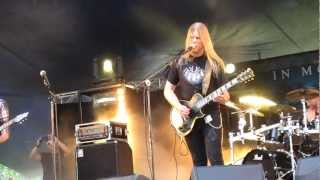In Mourning - For You To Know  (Live @ Nummirock 2012)