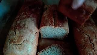 Древнерусский хлеб по рецепту Владимира Искакова. Бездрожжевой хлеб на закваске