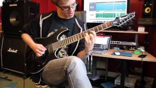 The Human Abstract - Digital Veil (Guitar Cover)