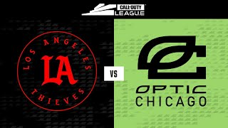 @LA Thieves  vs  @OpTic Chicago | Stage V Week 3 — Seattle Home Series | Day 3
