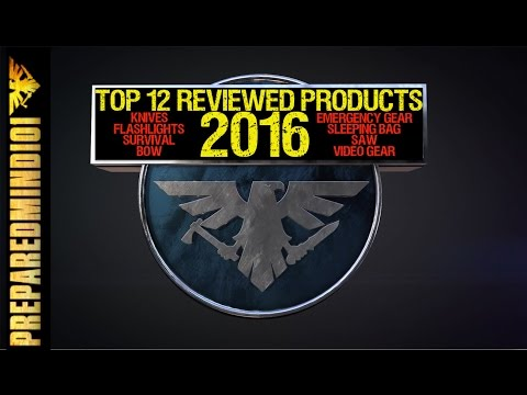 Top 12 PM101 Reviewed Products In 2016   - Preparedmind101