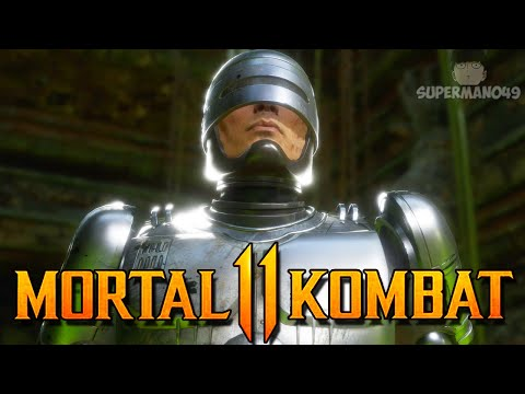 "First Time Playing RoboCop ONLINE! - Mortal Kombat 11: ""RoboCop"" Gameplay"