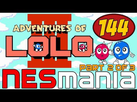 144/714 Adventures of Lolo 3 (Part 2/3) - NESMania