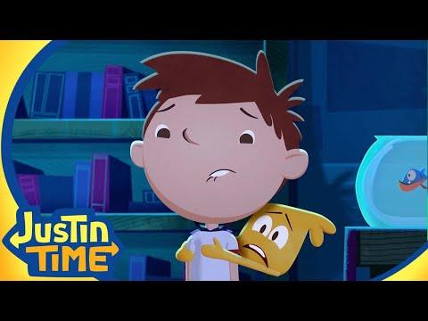 Justin Explores a Scary Castle! | Justin Time Season 3