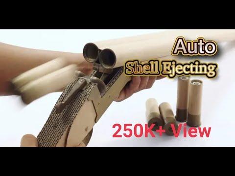 Break To Eject _ How To Make DIY Cardboard Gun