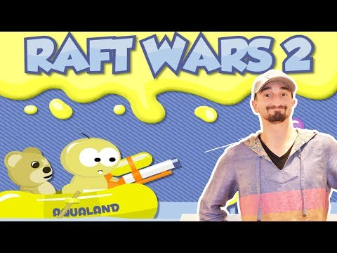 A WEB GAME CLASSIC SEQUEL! - RAFT WARS 2!! - Flash Player Games
