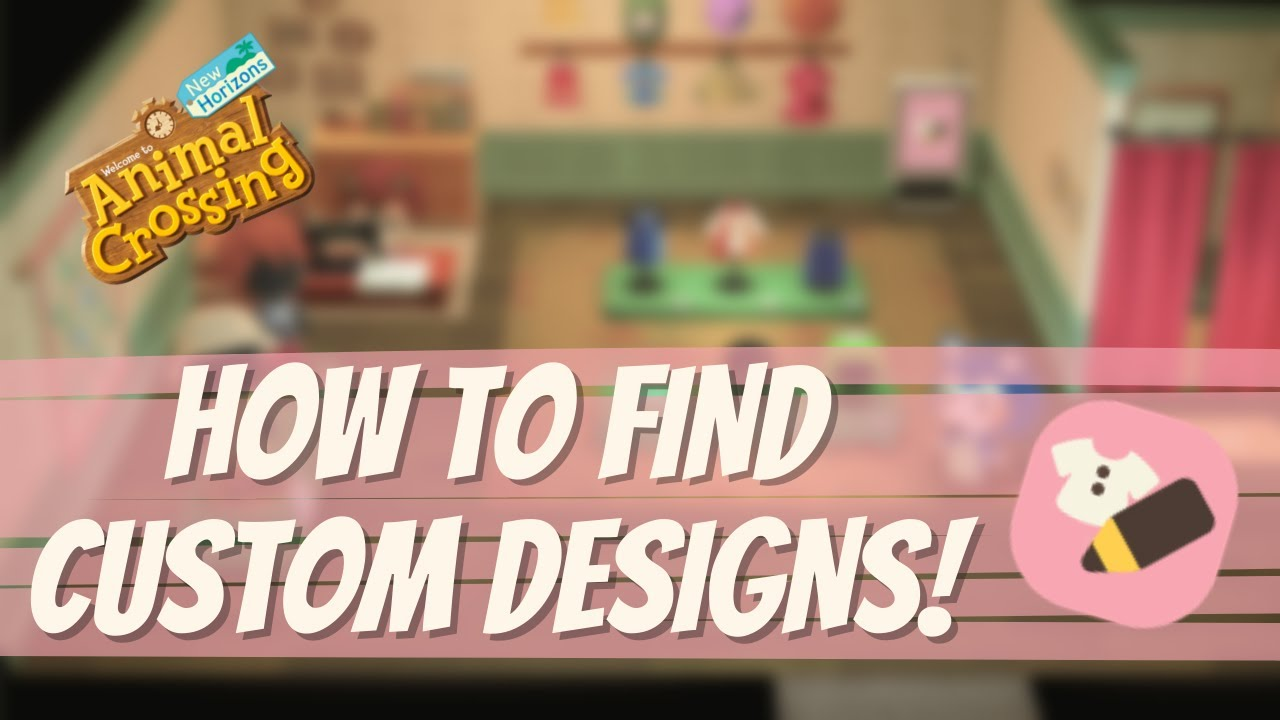 How To Hunt For Custom Designs + The Best Way to Save Codes? // Animal Crossing New Horizons