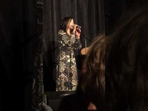 Karen David singing Beauty and the Beast