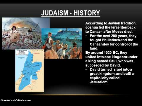 History of World Religions - Judaism