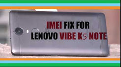 How To [Fix] Repair IMEI Of Lenovo Vibe K4 Note A7010a48 Easily