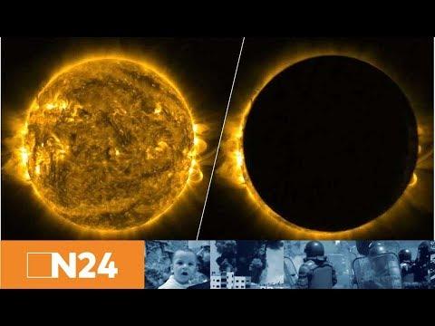 Jahrhundertereignis:  So Erlebt Amerika  Die Totale Sonnenfinsternis