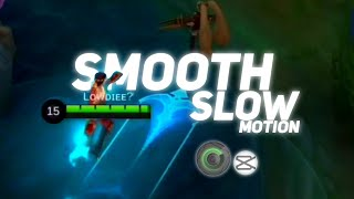 SMOOTH SLOW MOTION TUTORIAL USING CAPCUT AND SMOOTH ACTION CAM screenshot 4