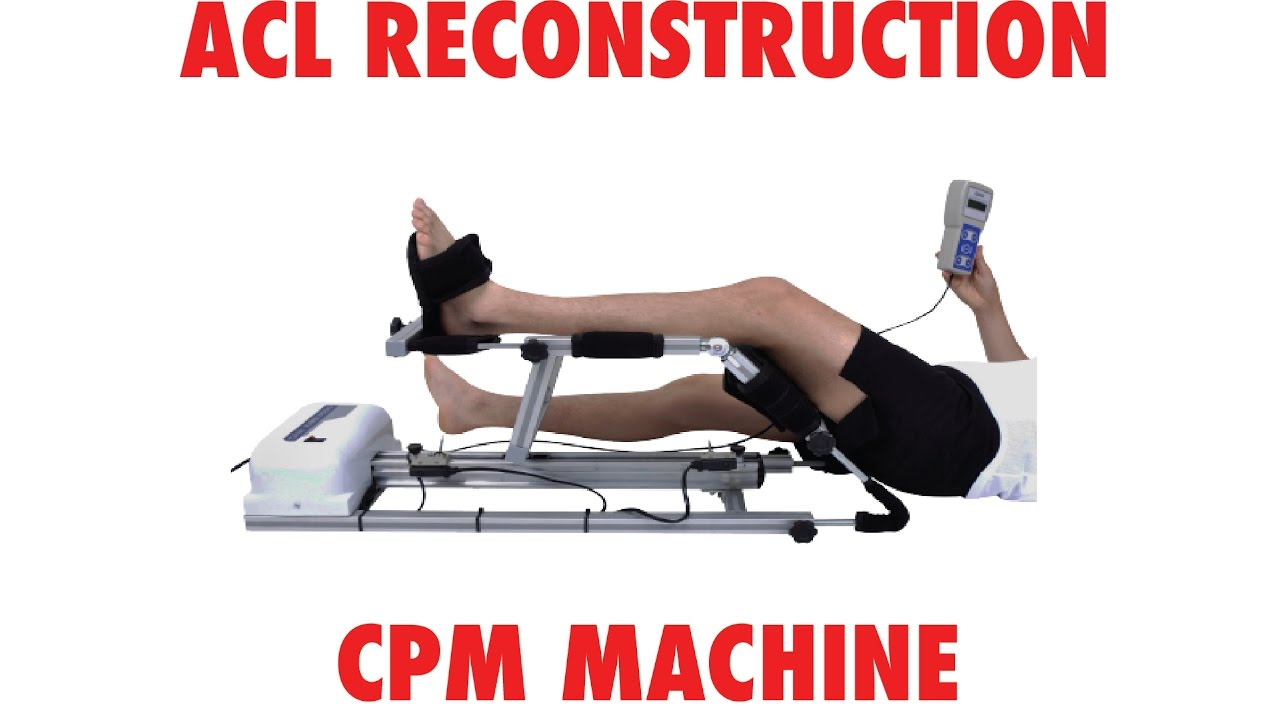 how to use cpm machine knee