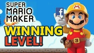 Facebook Hackathon Winning Level - Super Mario Maker