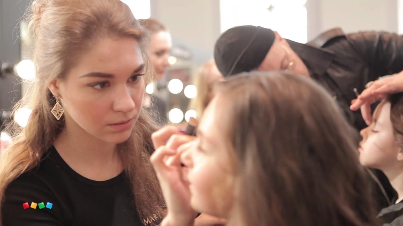 Модный показ Детского мира в стиле рок на Mercedes-Benz Fashion Week Russia  2017г. 265fbb7d3be
