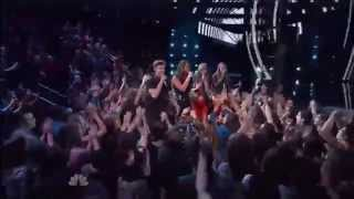 """Christina Grimmie sings """"Team"""" by Lorde with Bria Kelly, Jake Barker, and Tess Boyer"""