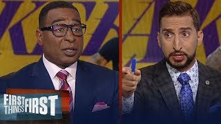Download Current Lakers are good enough to win LeBron a championship - Cris Carter | NBA | FIRST THINGS FIRST Mp3 and Videos