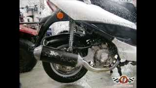 escape turbo kit kymco bet win 250 300cc scooter team