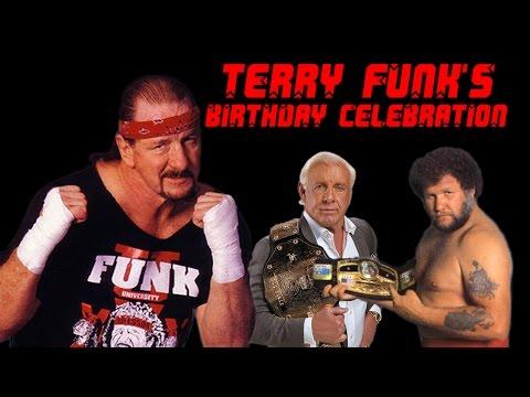 Terry Funk's Birthday Celebration w/ Flair, Race & Dillon