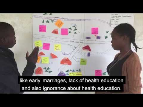 Young people talk about barriers to sexual health in rural Zambia (video 3)