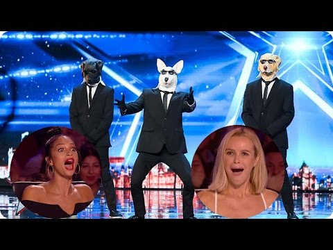The BEST FUNNY Auditions Britans Got Talent 2017 Week 1