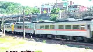 [HD] The Taiwan TRA up Tzu-Chiang Limited Express DMU DR2800 + DR3000 Train No. 224 at Badu Station