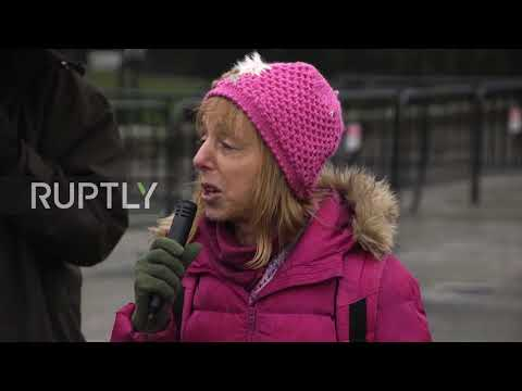 USA: Frosty reception for Saudi Prince as protesters gather outside White House
