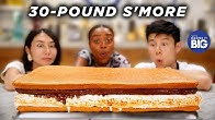 We Made A Giant 30-Pound S'More For Quinta