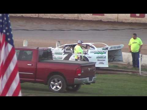 8/10/2018 Wissota Late Model Heat Race @ Red Cedar Speedway
