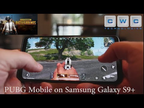 PUBG Mobile on Samsung Galaxy S9 Plus Hands On World Exclusive