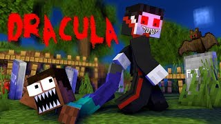 Monster School: Vampire saga - Dracula challenge - Minecraft Animation