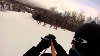 Ski Mont-Blanc 2013-02-03 GoPro