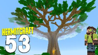 HermitCraft 7: 53 | LEAVES LEAVES OMEGA TREE