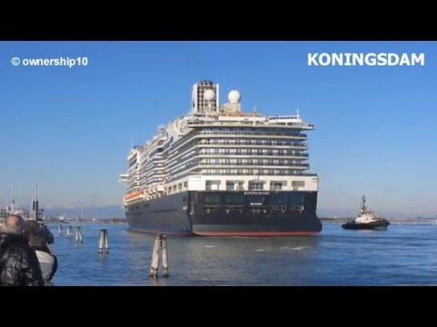Koningsdam comes back to shipyard (Fincantieri - Marghera)