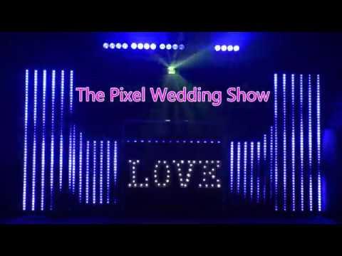Top Wedding Lightshows - Hampshire Wedding DJ Martin Lake