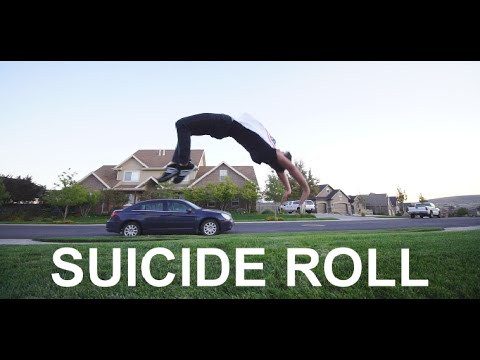 How to do a SUICIDE ROLL/BACK WORM - Freerunning Tutorial